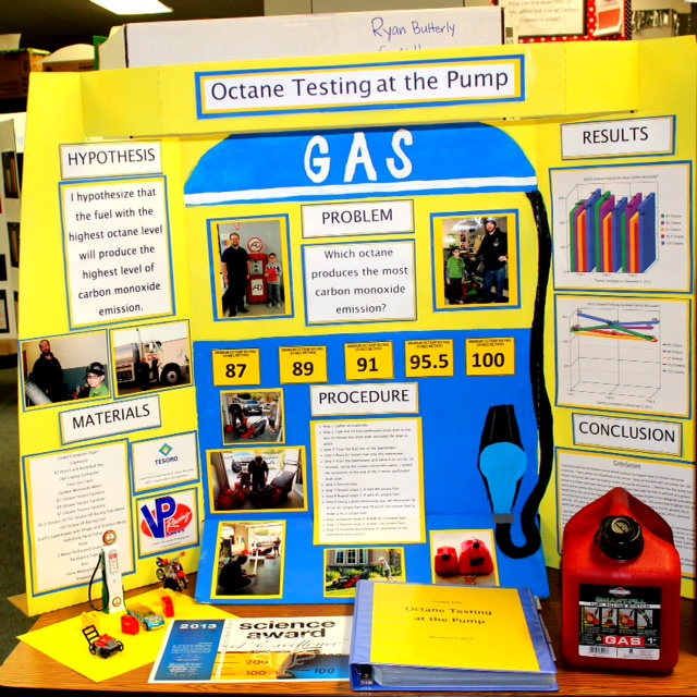 high school level science fair projects