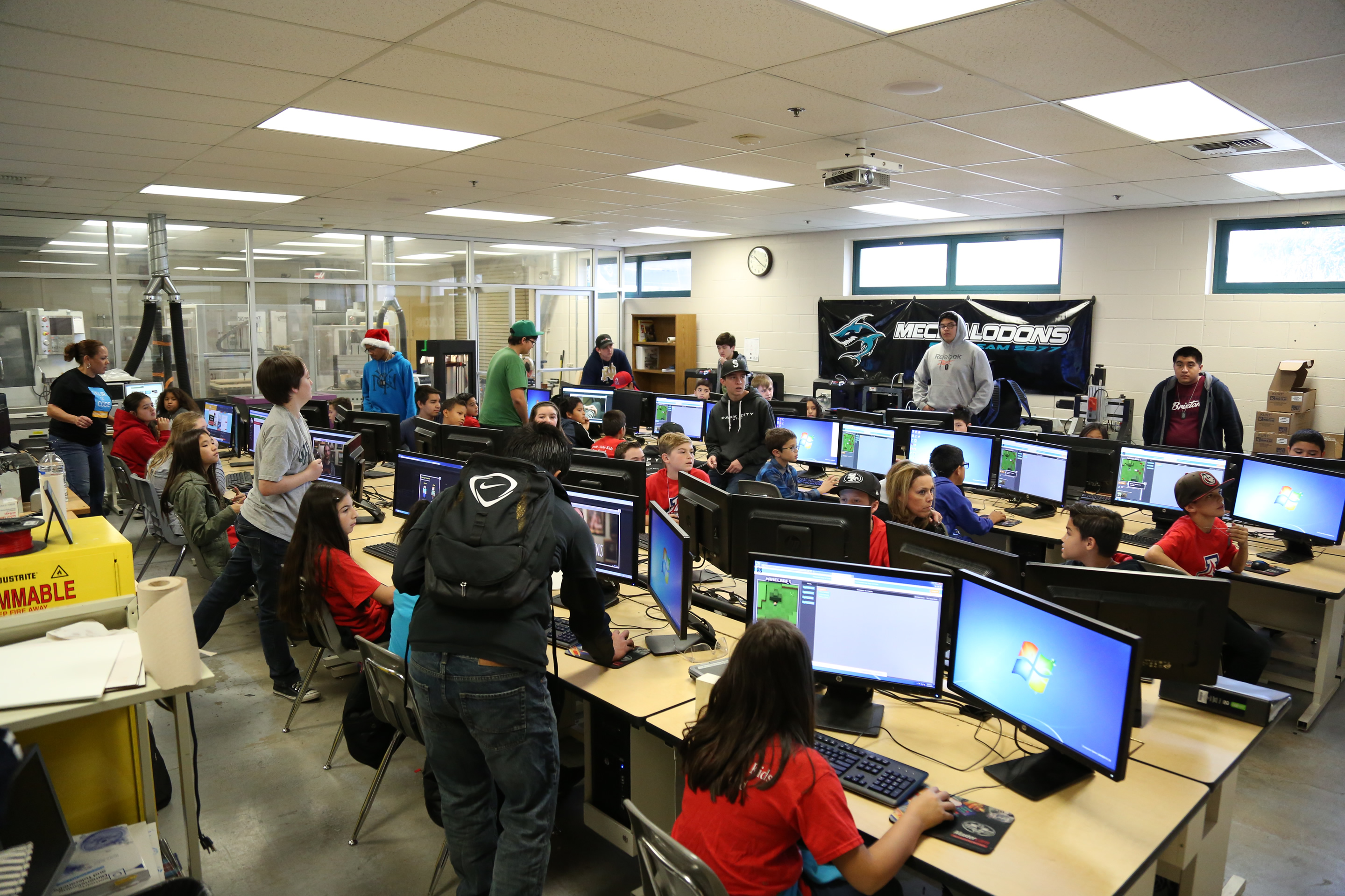 """Santiago High Students Hosts an """"Hour Of Code"""" – The CNUSD ..."""