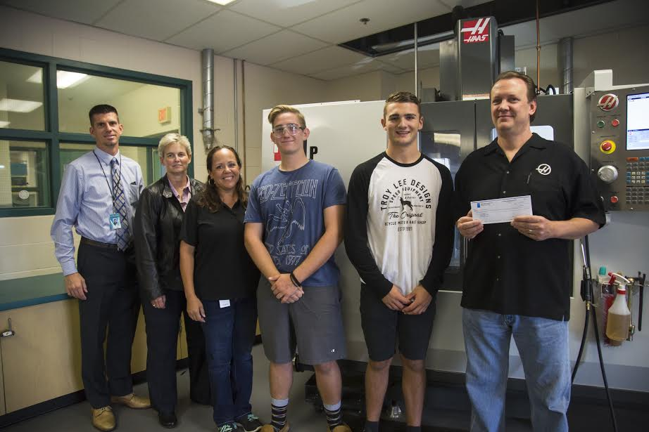 Santiago High Receives Grant From Gene Haas Foundation ...