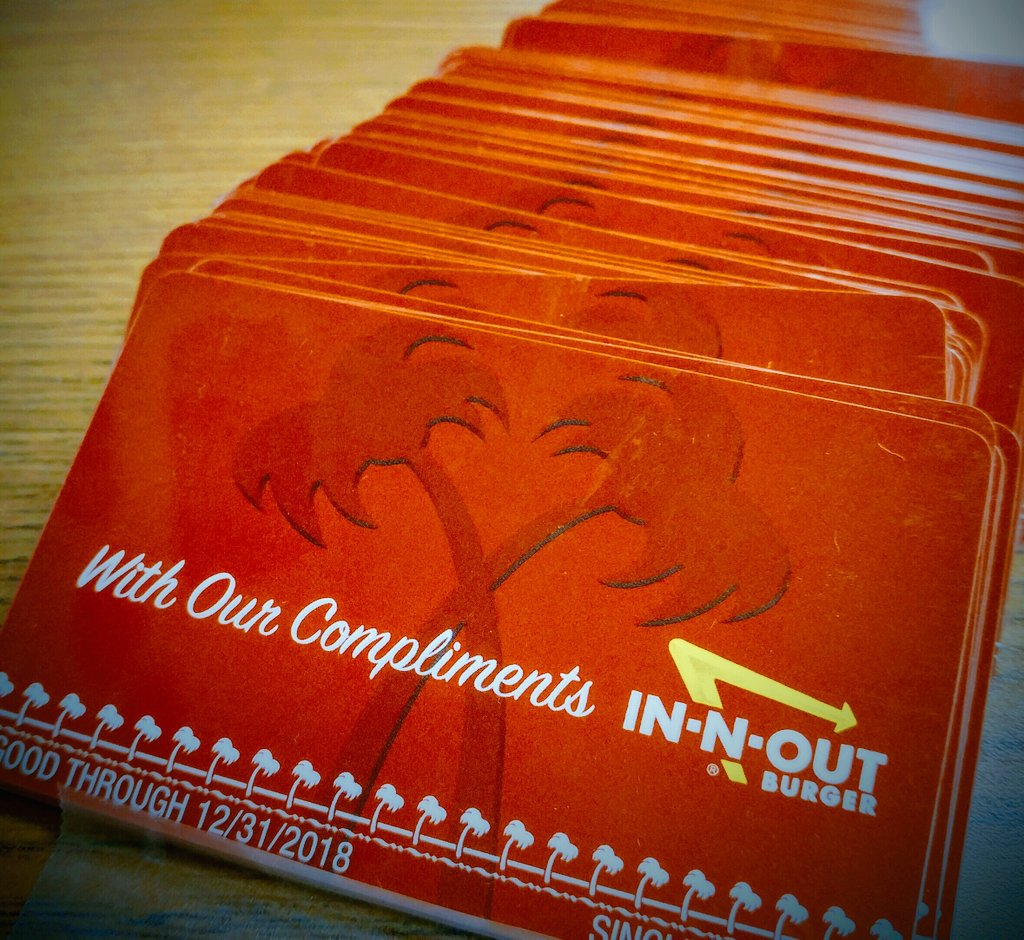 In And Out Gift Cards - Gift Card Ideas