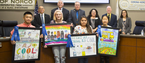 November 2018 Board of Education Meeting Recognition