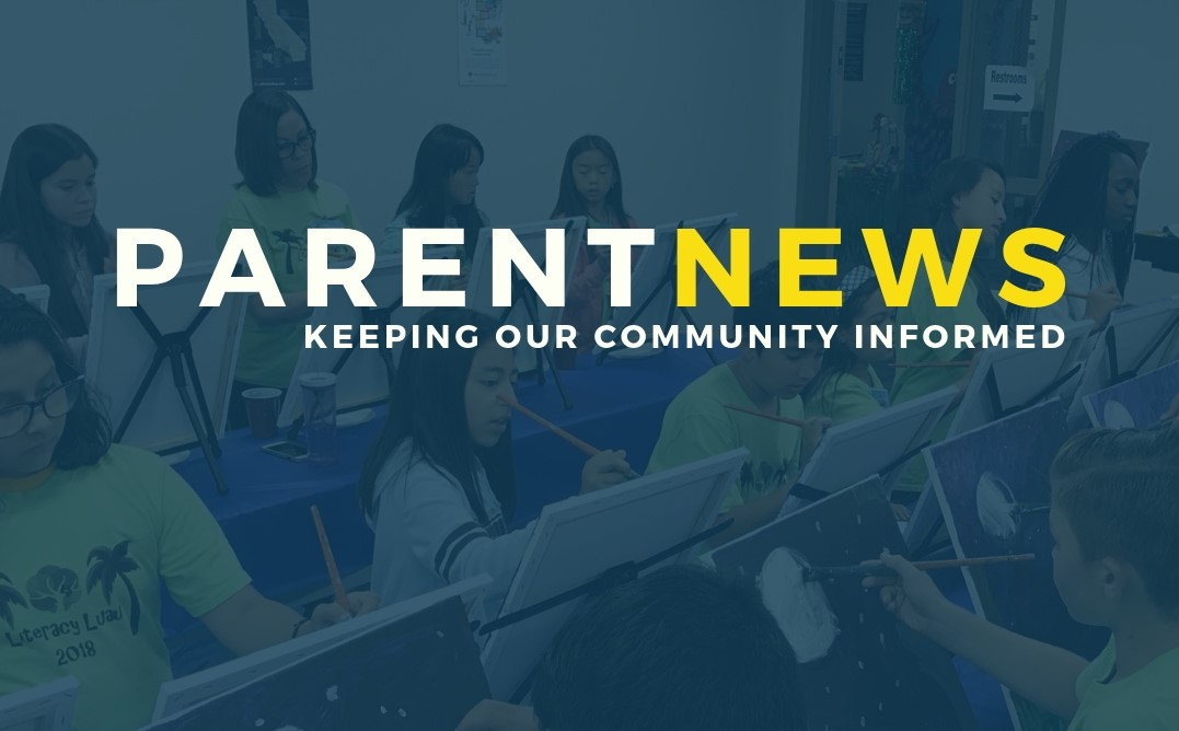 Parent News: Online Registration + Parent Center Classes!