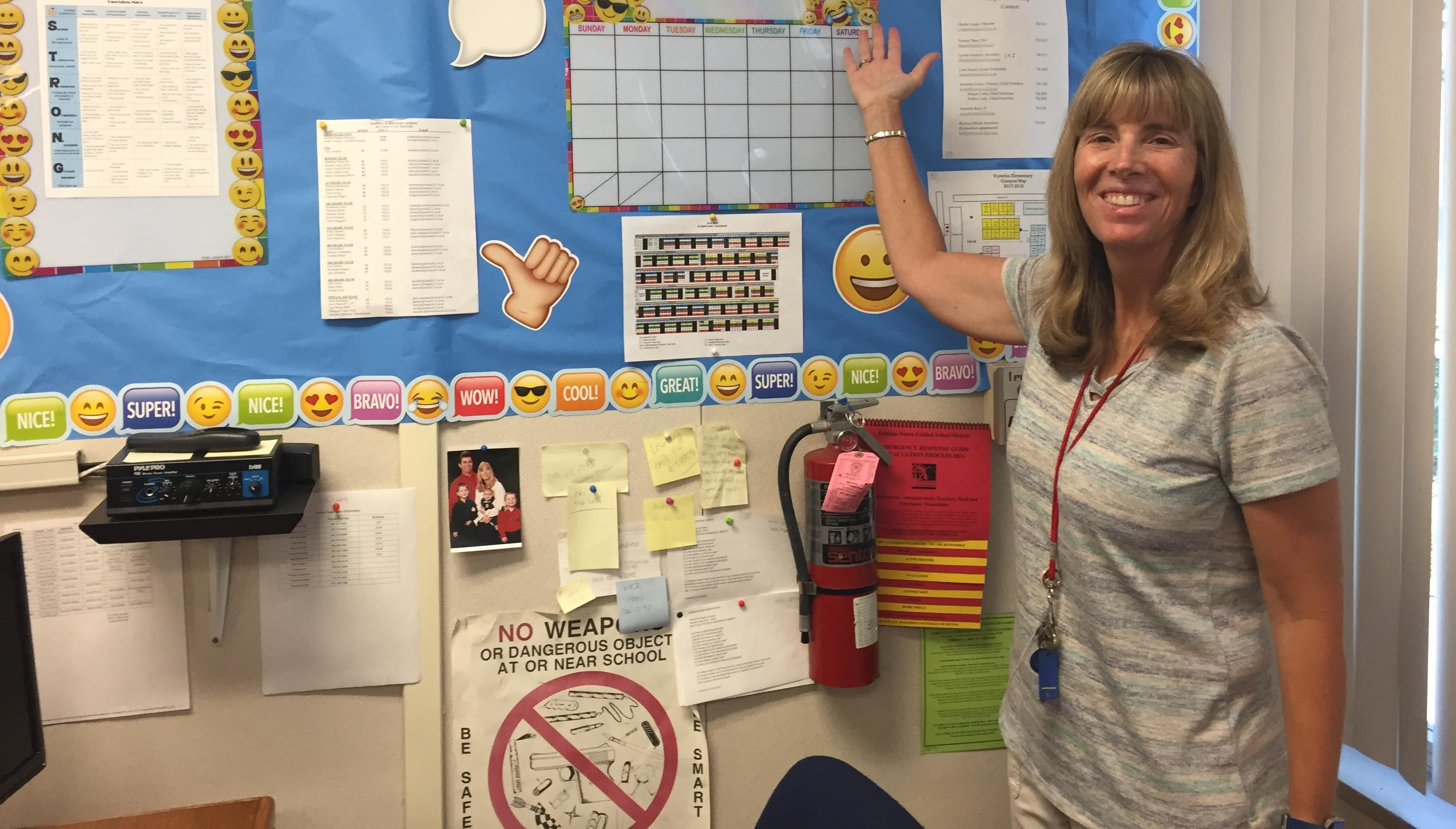 #CNUSDFacultyFriday: Meet Terry Mabry from Vicentia Elementary!
