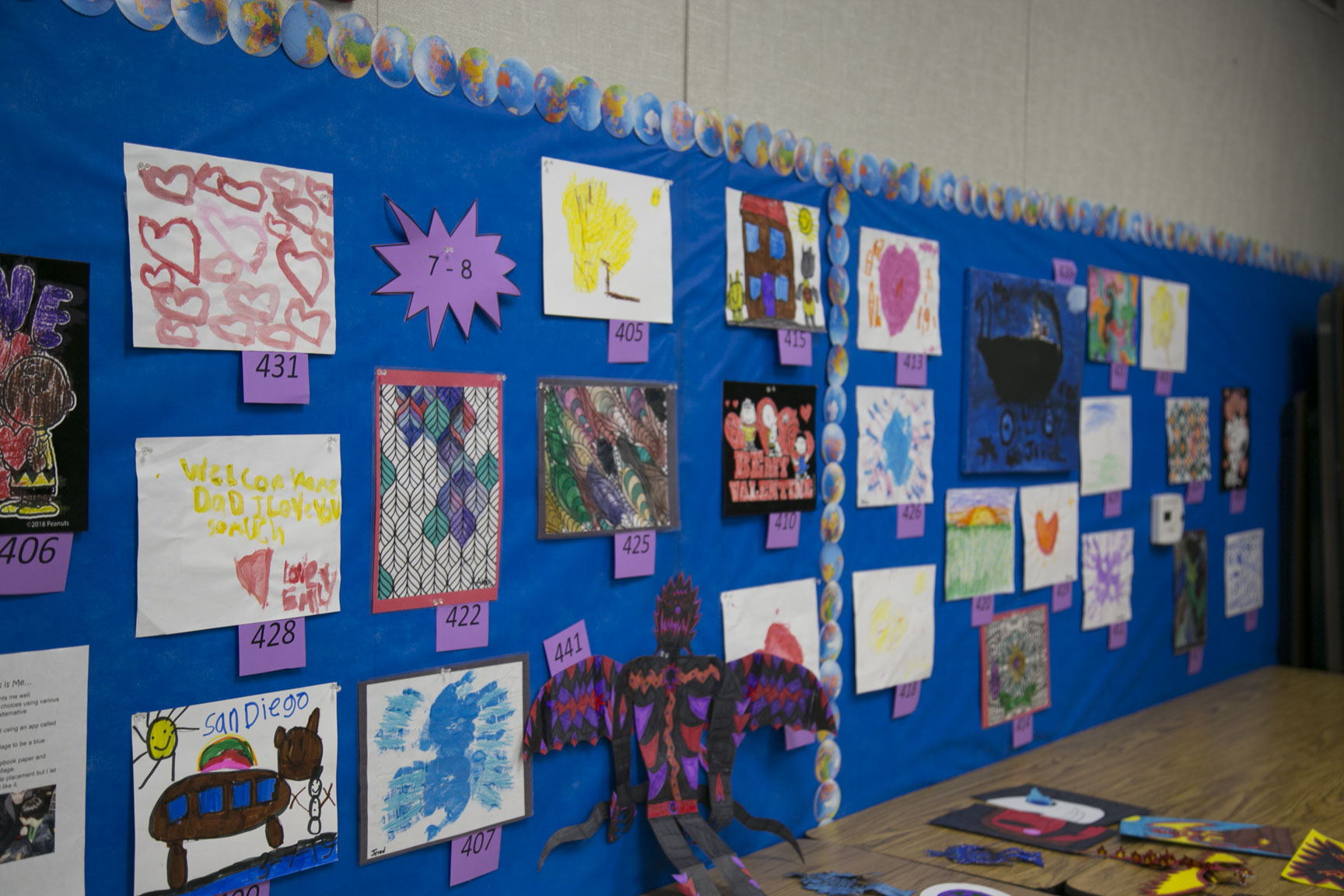 Special Education Community Advisory Committee Hosts 13th Annual Art Show