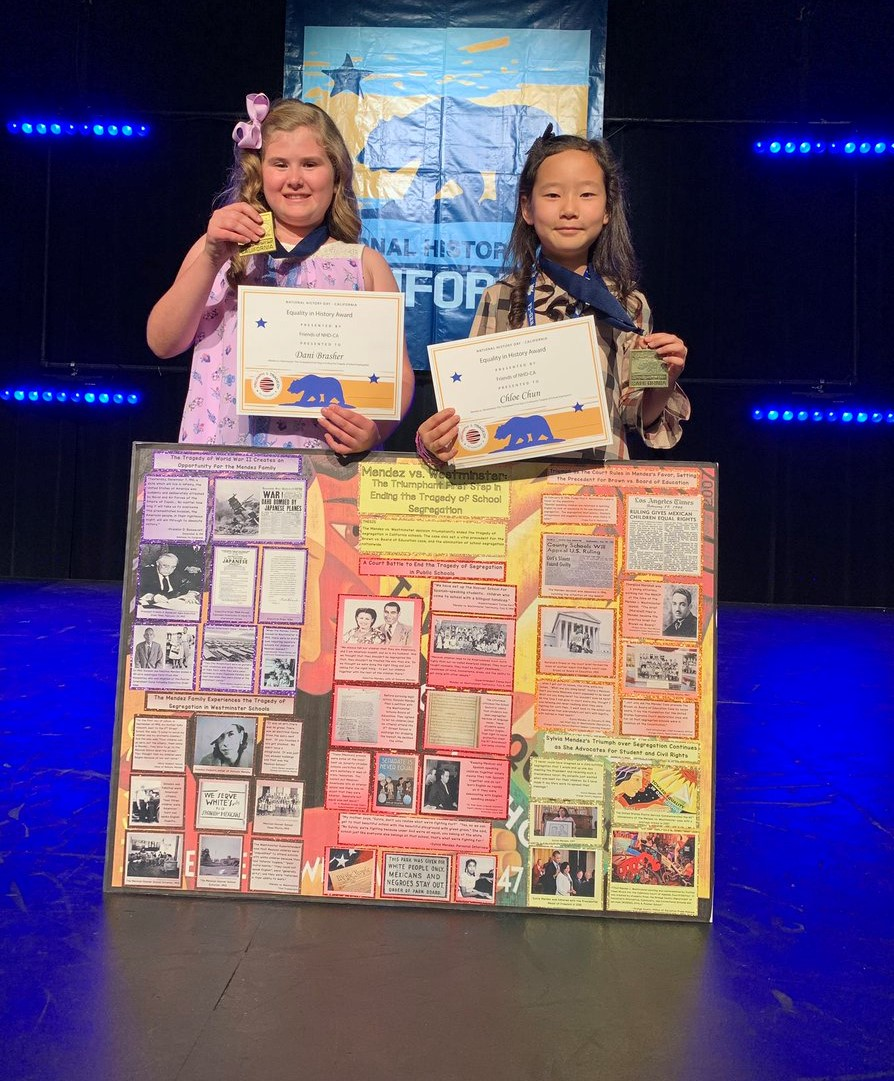 CNUSD Students place in 2019 National History Day – California Competition