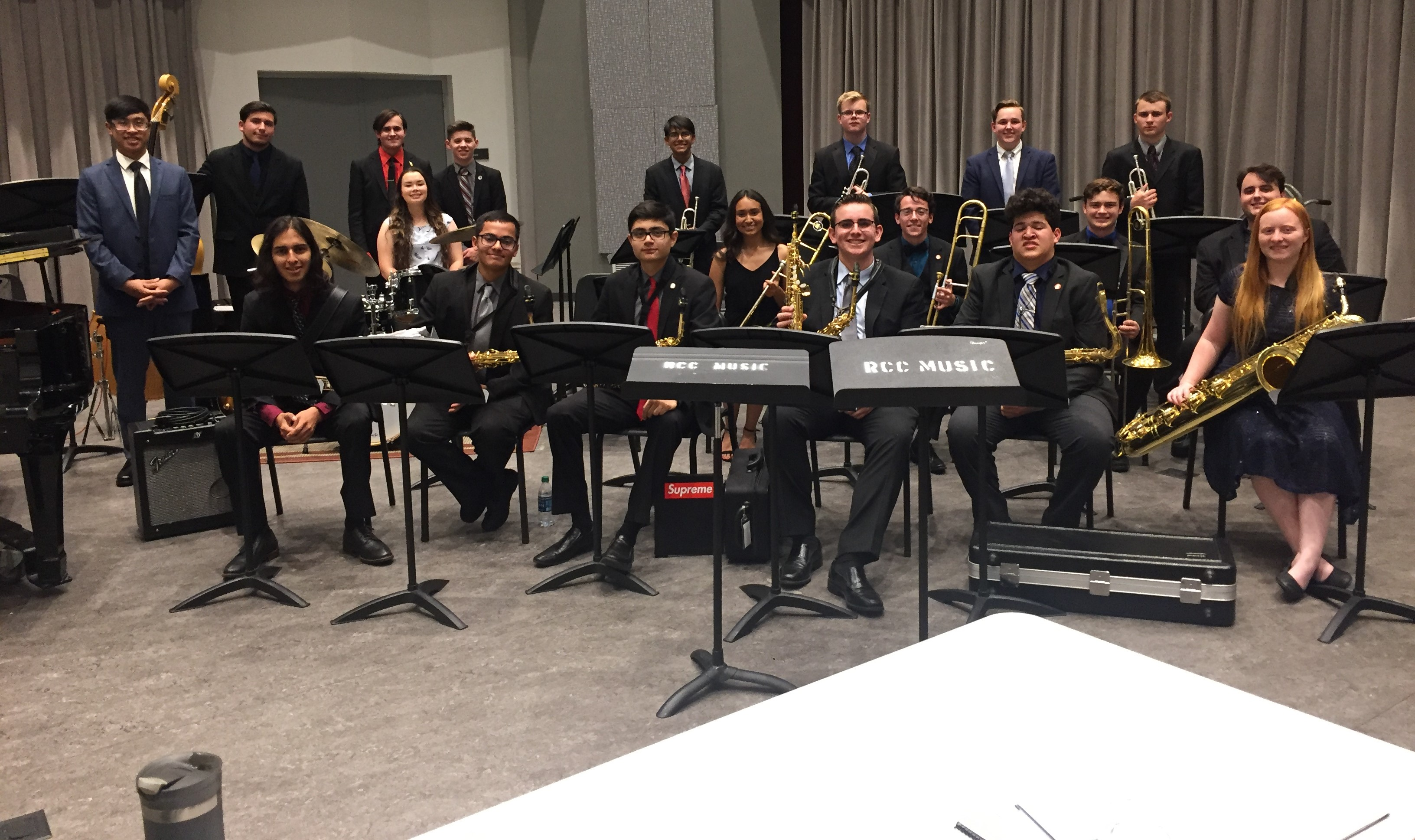 Santiago High School Jazz Ensemble to perform at 2020 State Music Education Conference