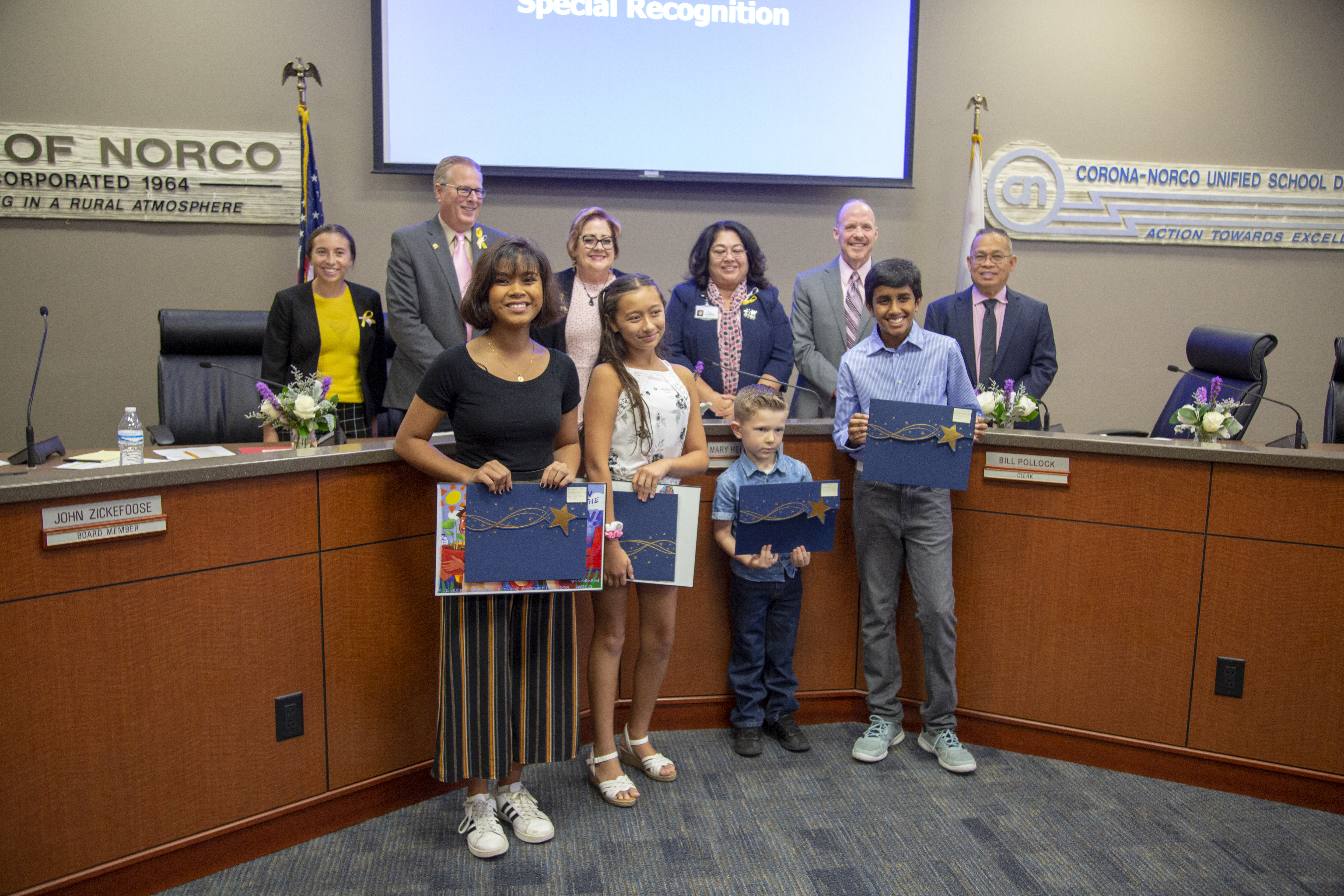 October 2019 Board of Education Special Recognition