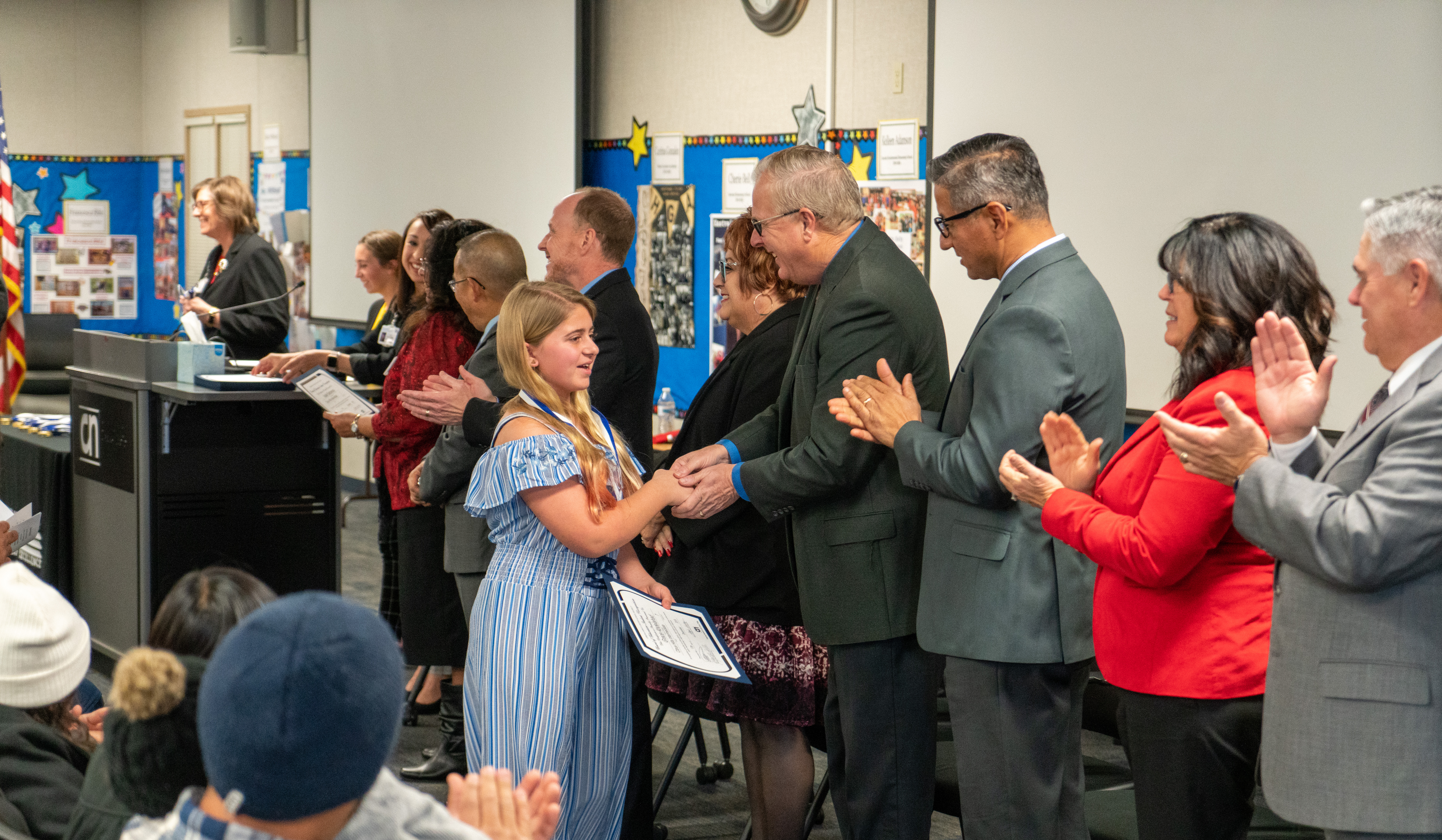 December 2019 Board of Education Student Recognition