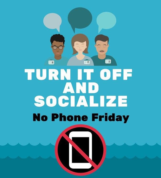 Santiago High hosts No Phone Friday