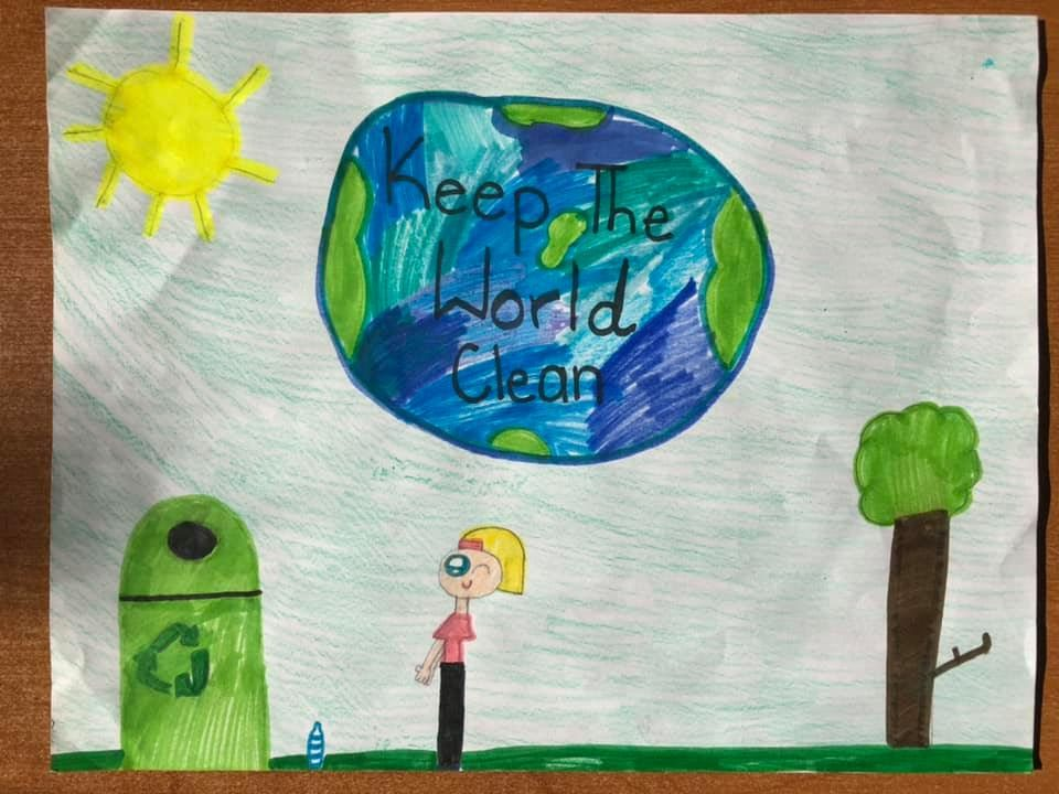 CNUSD Student Art showcased in the 2020 SoCal Waste Management Calendar