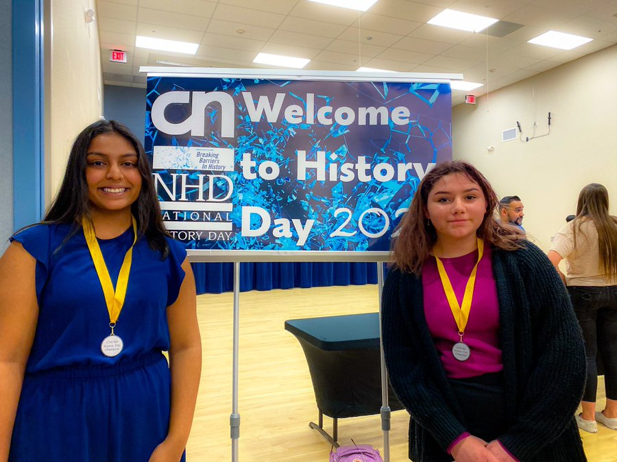 CNUSD Students Excel at RCOE History Day Competition
