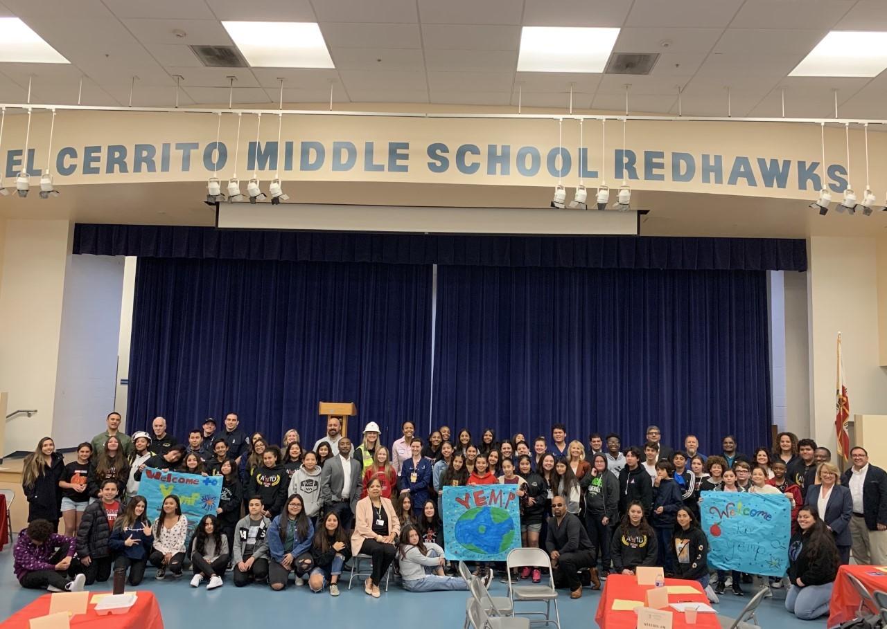 El Cerrito Middle School Hosts Annual YEMP Day