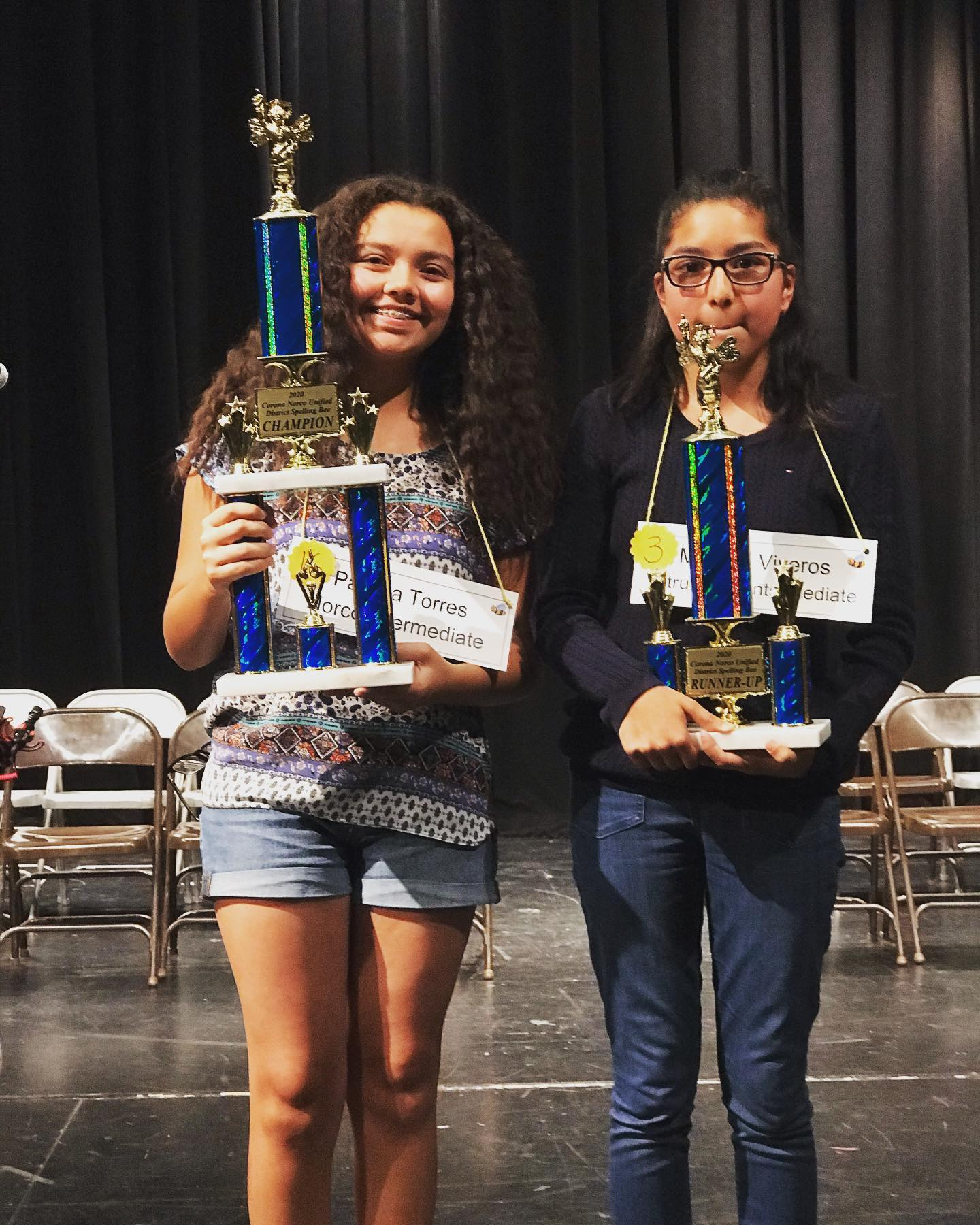 Norco Intermediate Student Wins 2020 District Spelling Bee